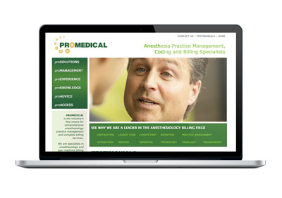 ProMedical Web Site Design